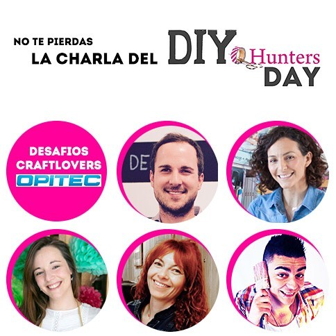 ponentes en DIY Hunters Day.