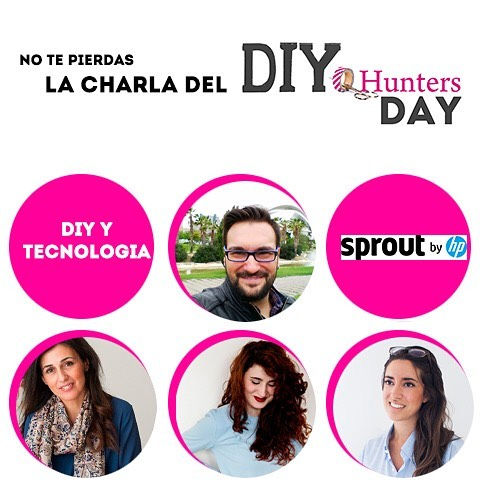 participantes en DIY Hunters Day.
