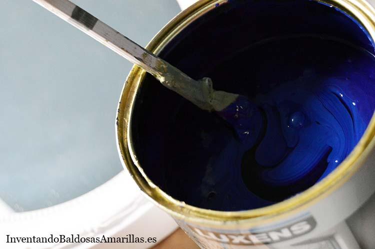 burbujas en la pintura