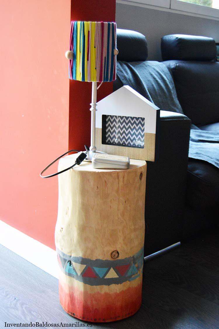 como hacer lampara trapillo