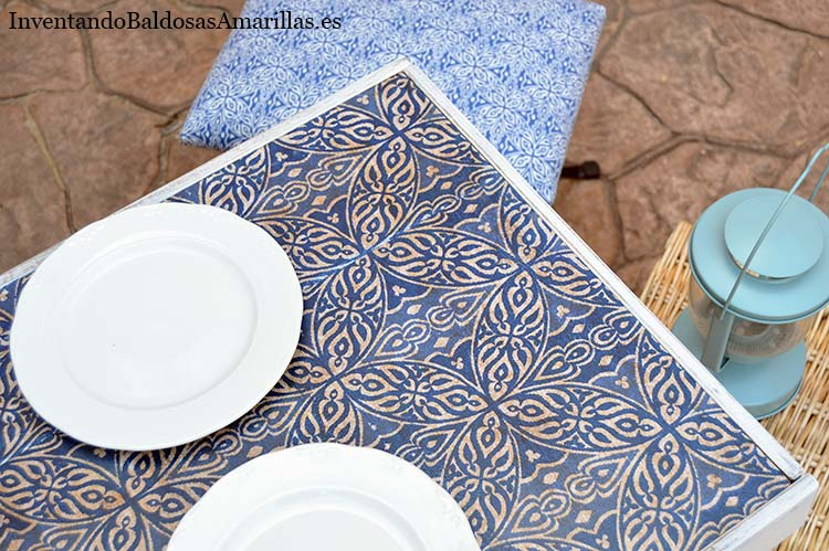 diy mesa ikea madera decorada