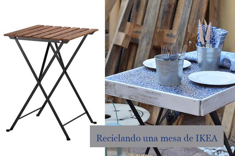 reciclando una mesa ikea
