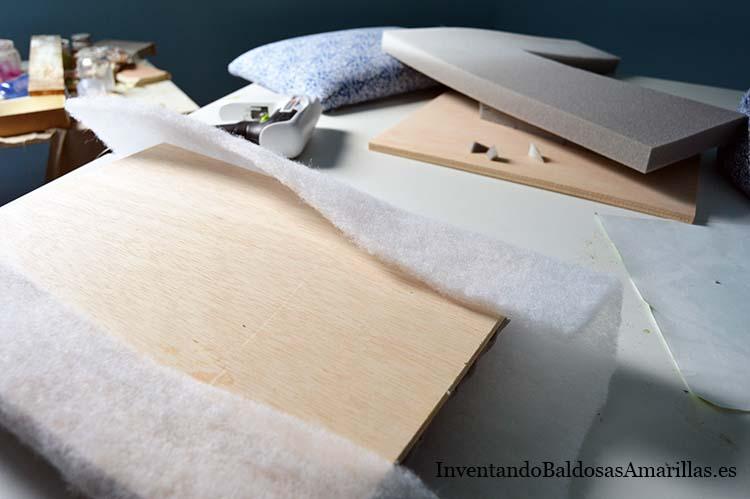 materiales tapizar