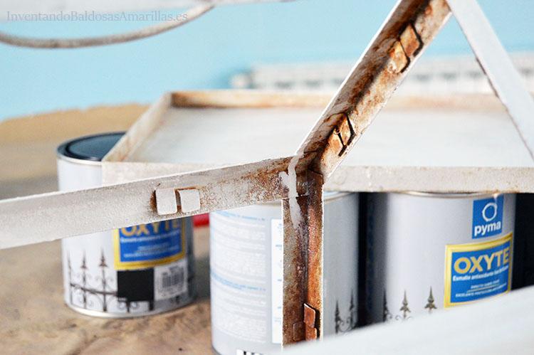 pintar sobre oxido