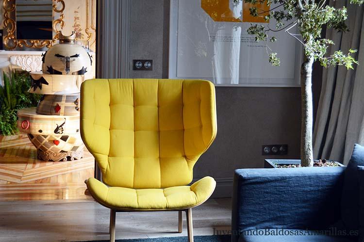sillon amarillo