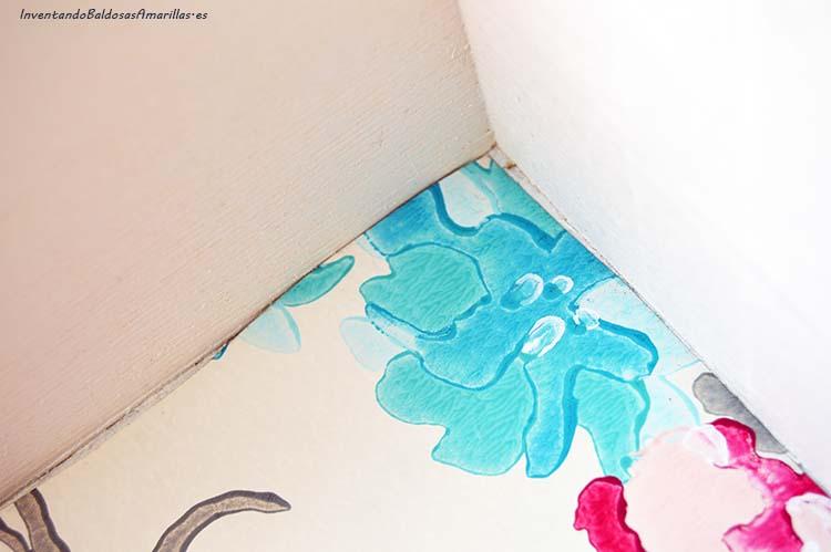 forrar cajones con papel