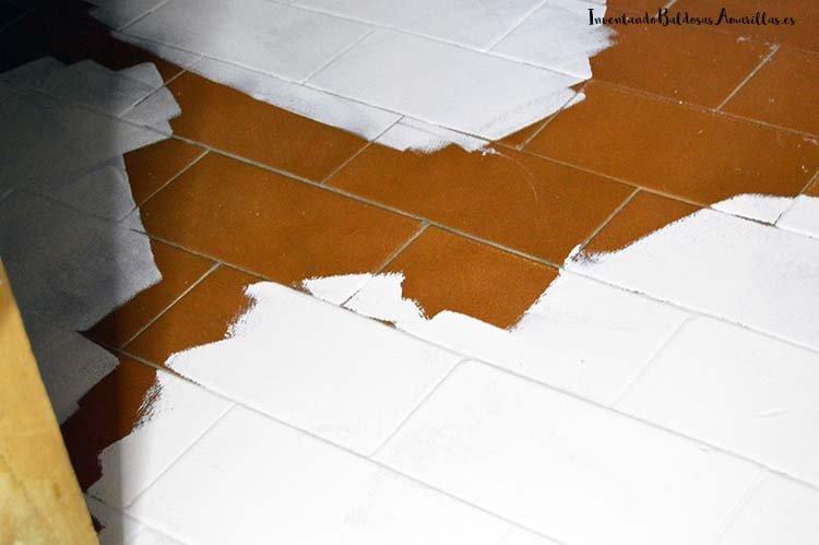 Pintar suelo ceramico materiales de construcci n para la - Limpiar pintura plastica ...