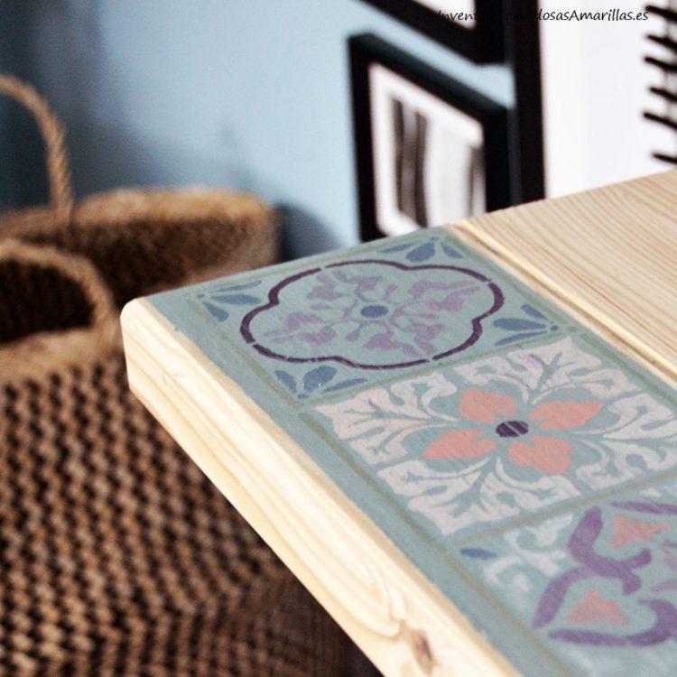 Decorar un escritorio de madera de ikea