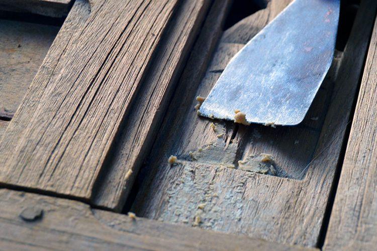 Curso online III: Reparar un mueble de madera