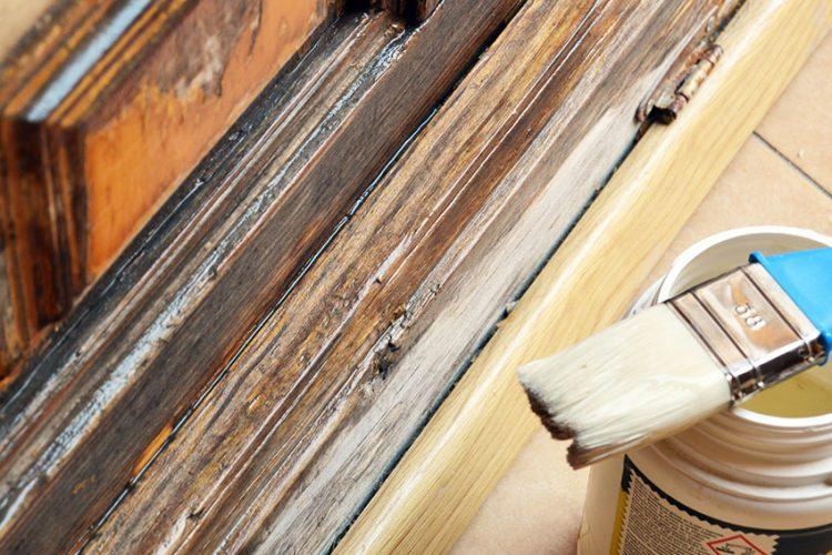 Renovar una puerta de madera