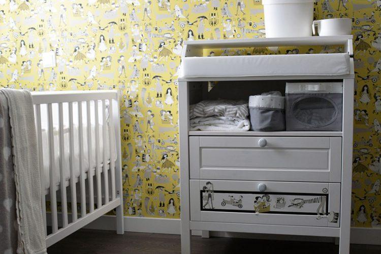 Muebles infantiles para la habitación del bebé